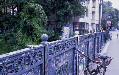 Photograph - Bridge Railing by Nacho Vega