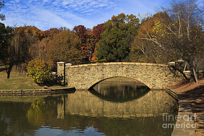 Bridge Reflection Art Print