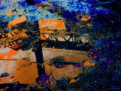 Bridge Reflection Art Print by Safir  Rifas