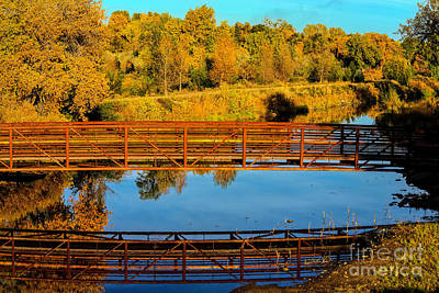 Photograph - Bridge Reflections by Jon Burch Photography