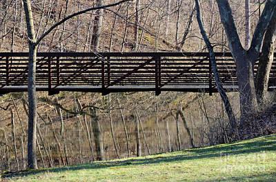 Photograph - Bridge Reflections by Karen Adams