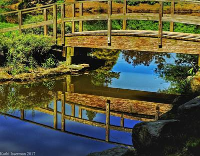Photograph - Bridge Reflections by Kathi Isserman
