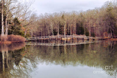 Photograph - Bridge Reflections by Kerri Farley
