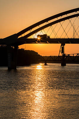 Photograph - Bridge Sunrise 3 by Patti Deters