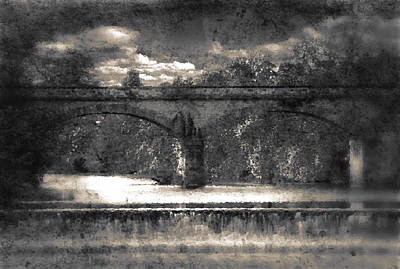 Cracks Digital Art - Bridge by Svetlana Sewell