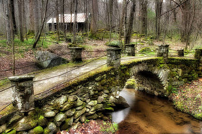 Photograph - Bridge Through The Woods by Mike Eingle