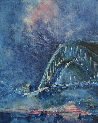 Painting - Bridge To All Dreams by Jane See