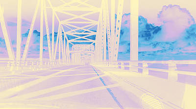 Photograph - Bridge To Astoria #2 by Anne Westlund