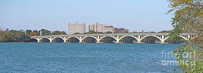 Photograph - Bridge To Belle Isle State Park by Ann Horn