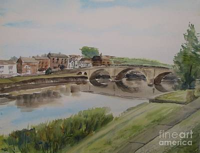 Painting - Bridge To Bewdley by Martin Howard