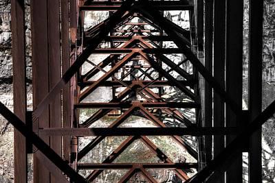 Photograph - Bridge To Black by David Andersen