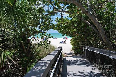 Photograph - Bridge To Casey Key Beach by Gary Wonning