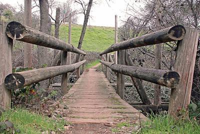 Bridge To E Art Print by M Ryan