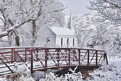 Photograph - Bridge To Faith by Diane Alexander