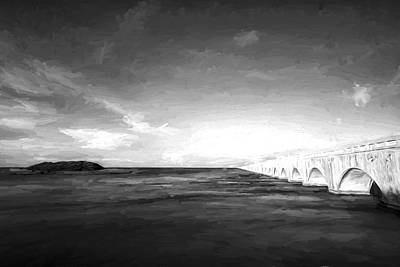 Bridge To Far IIi Art Print by Jon Glaser