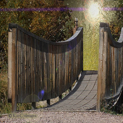 Digital Art - Bridge To Forever by Kae Cheatham