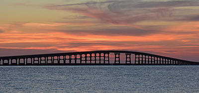 Bridge To Hatteras Art Print