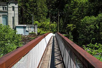 Photograph - Bridge To Ladder Creek by Tom Cochran