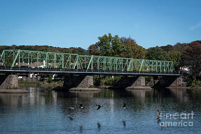 Photograph - Bridge To Lambertville 2 by Judy Wolinsky