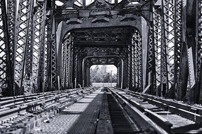 Railroad Bridge Photograph - Bridge To No Where 2 by Louis Dallara