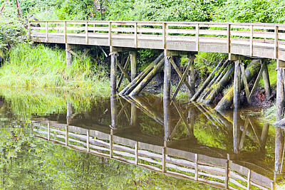 Photograph - Bridge To Nowhere by Harold Piskiel