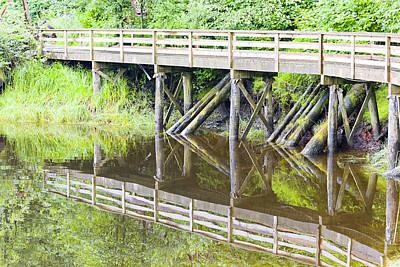 Photograph - Bridge To Nowhere by Harold Piskiel