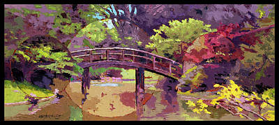 Painting - Bridge To Nowhere by John Lautermilch