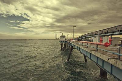 Photograph - Bridge To Nowhere by Mark Perelmuter