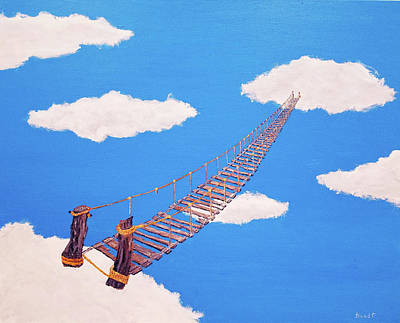 Painting - Bridge To Nowhere by Thomas Blood