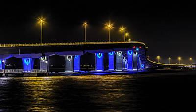 Somer Photograph - Bridge To Ocean City by Nick Zelinsky