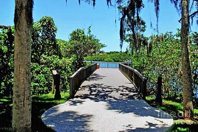 Photograph - Bridge To Phillippi Creek by Gary Wonning