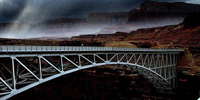 Photograph - Bridge To The North Rim by Al Swasey
