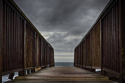 Photograph - Bridge To The Sea by Alex Leonard