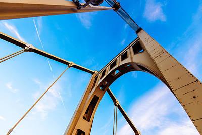 Bridge To The Sky Art Print by Paul Scolieri