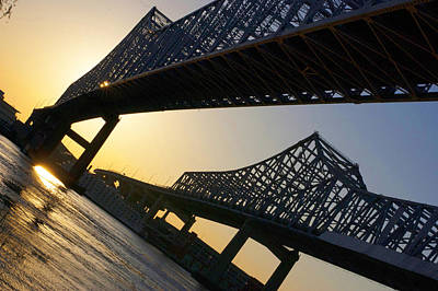 New Orleans Wall Art - Photograph - Bridge To The Sun by Marc Villere