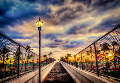 Photograph - Bridge To The Sunrise Beach by Rikk Flohr