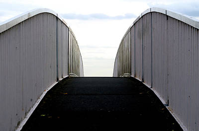 Photograph - Bridge To Where by Jez C Self