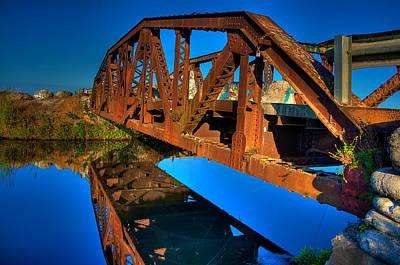 Bridge To Yesterday Art Print by William Wetmore