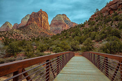 Photograph - Bridge To Zion by Jonathan Nguyen