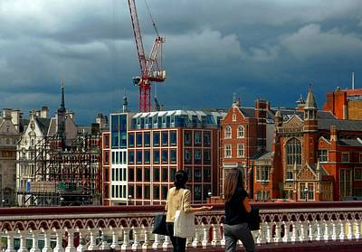 Photograph - Blackfriars Bridge View by Dorothy Berry-Lound