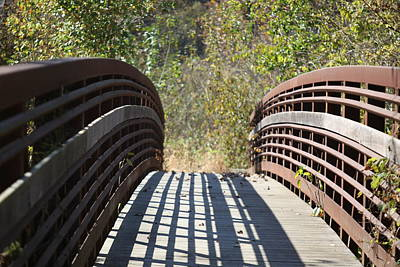 Photograph - Bridge Walk Way by Kathy Cornett