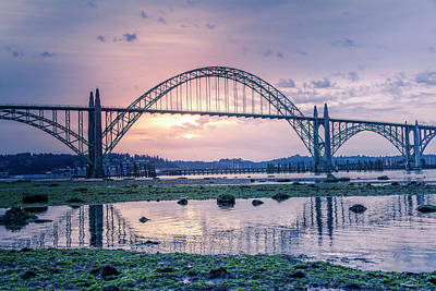 Photograph - Bridgemorning041818 by Bill Posner