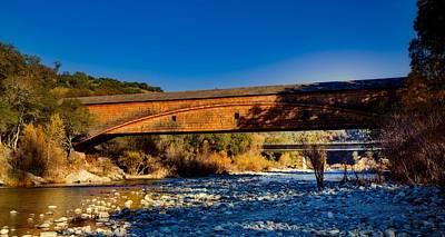 Photograph - Bridgeport Covered Bridge by L O C