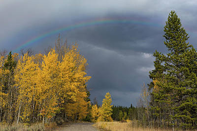 Photograph - Bridger Teton Rainbow by Kathleen Bishop