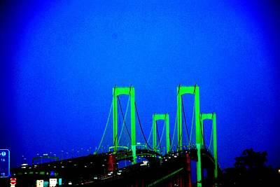 Bridges 2x2010b Art Print