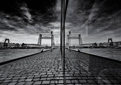 Rotterdam Photograph - Bridges All Over by Gerard Jonkman