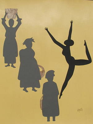 Dancer Mixed Media - Bridges by Elisa McKay