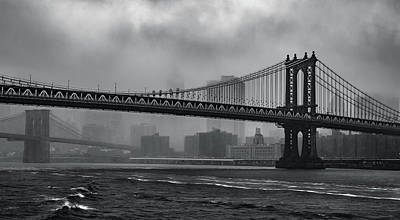 Bridges In The Storm Art Print
