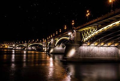 Photograph - Bridges Of Budapest by Jaroslaw Blaminsky