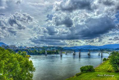 Bridges Of Chattanooga Tennessee Art Print